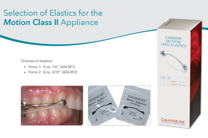 Carriere® Oral Elastics (Force 2)